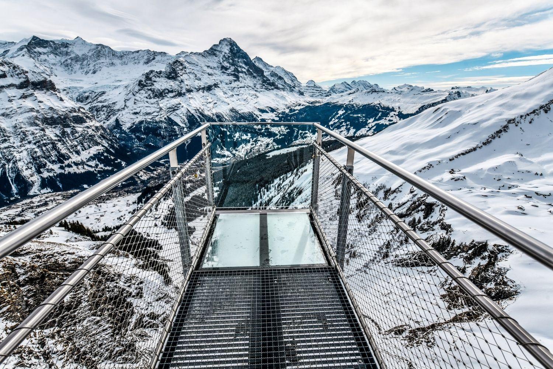 First Cliff Walk - Grindelwald