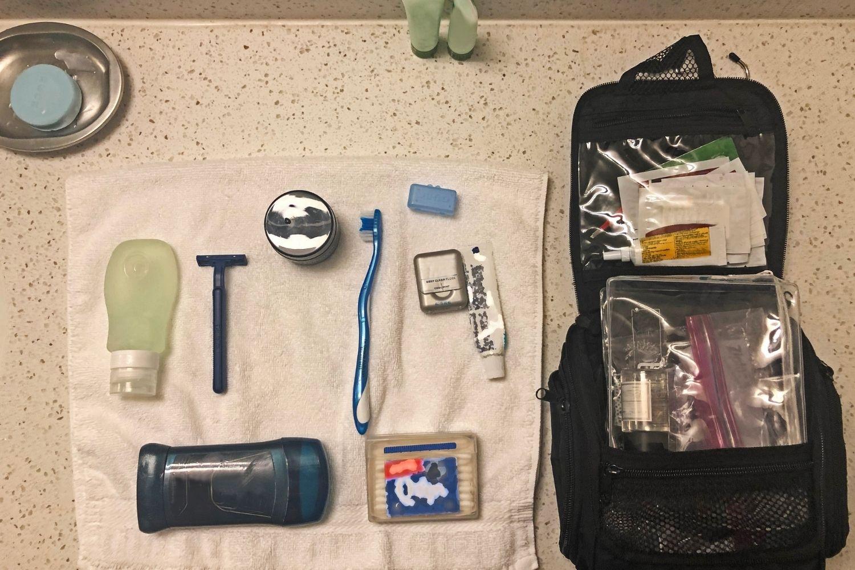 travel packing hack