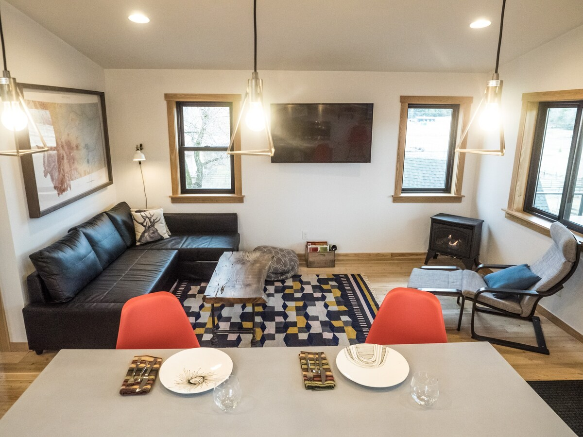 Modern Guest Suite in Whitefish Montana