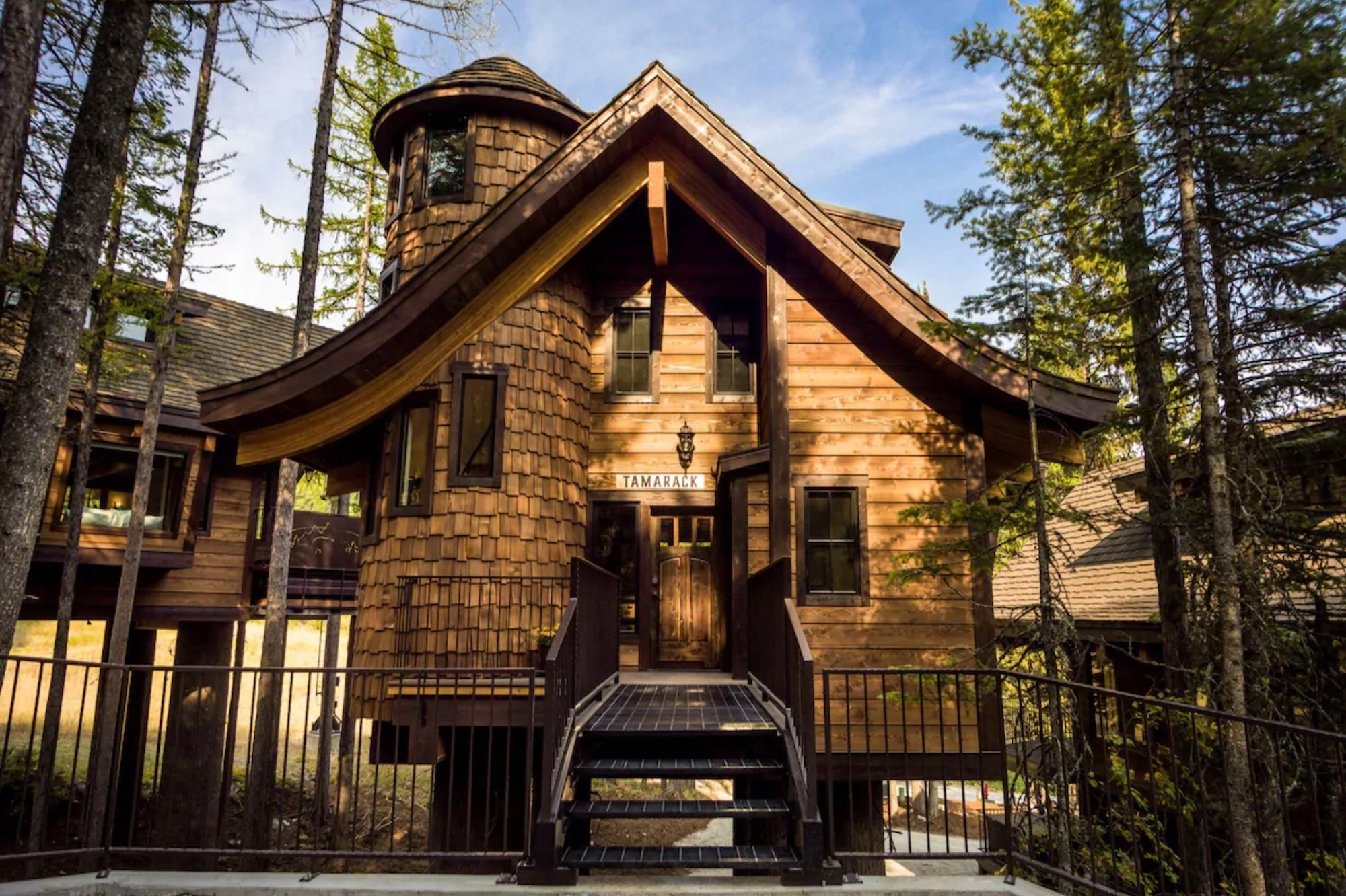 Luxury Treehouse Chalet Airbnb Whitefish