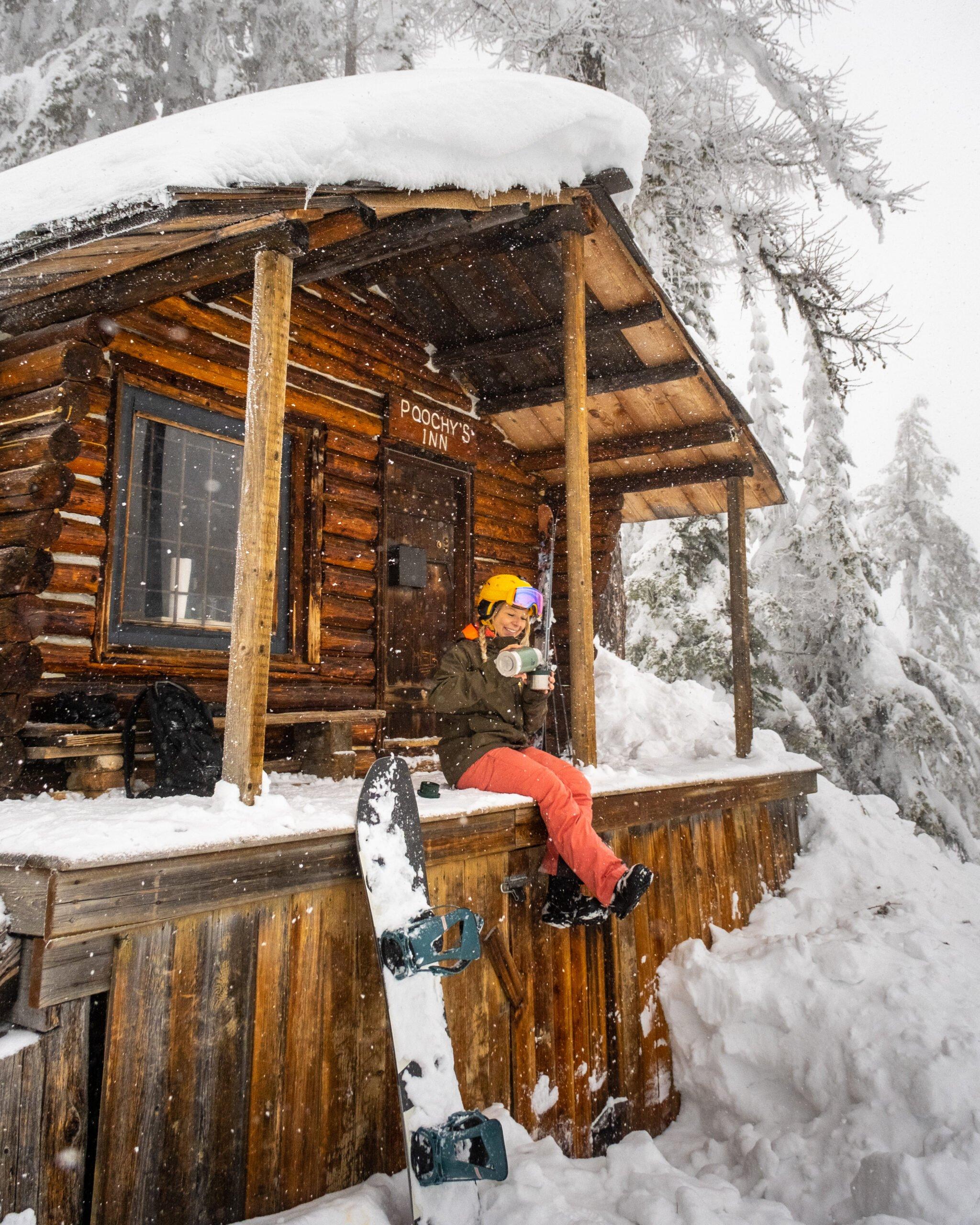 Natasha On Red Mountain Ski Resort