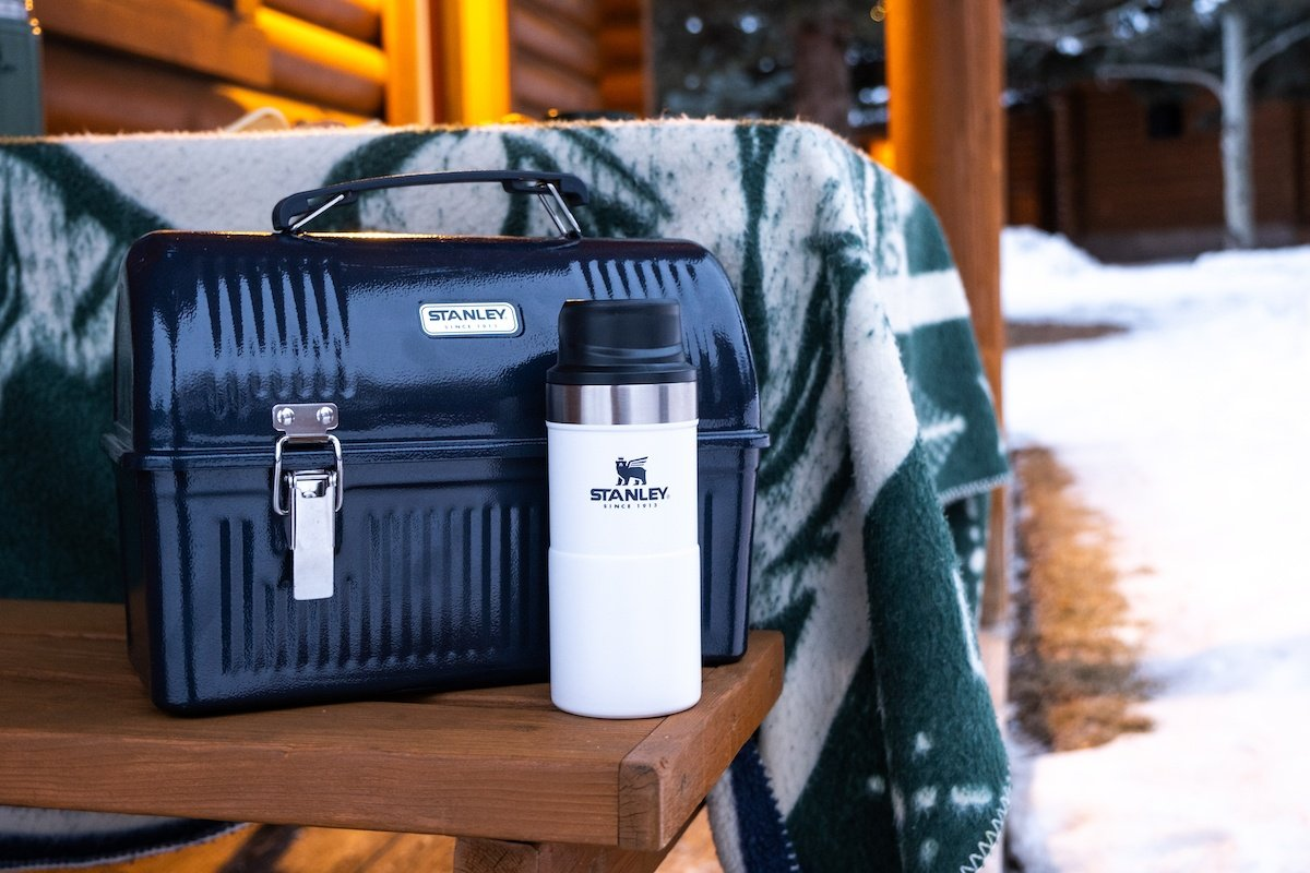 Stanley Lunch Box With Stanley Action Trigger Coffee Mug