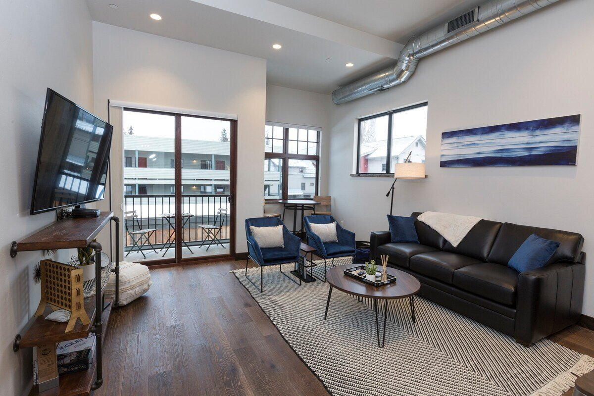 Downtown Condo Whitefish Airbnb