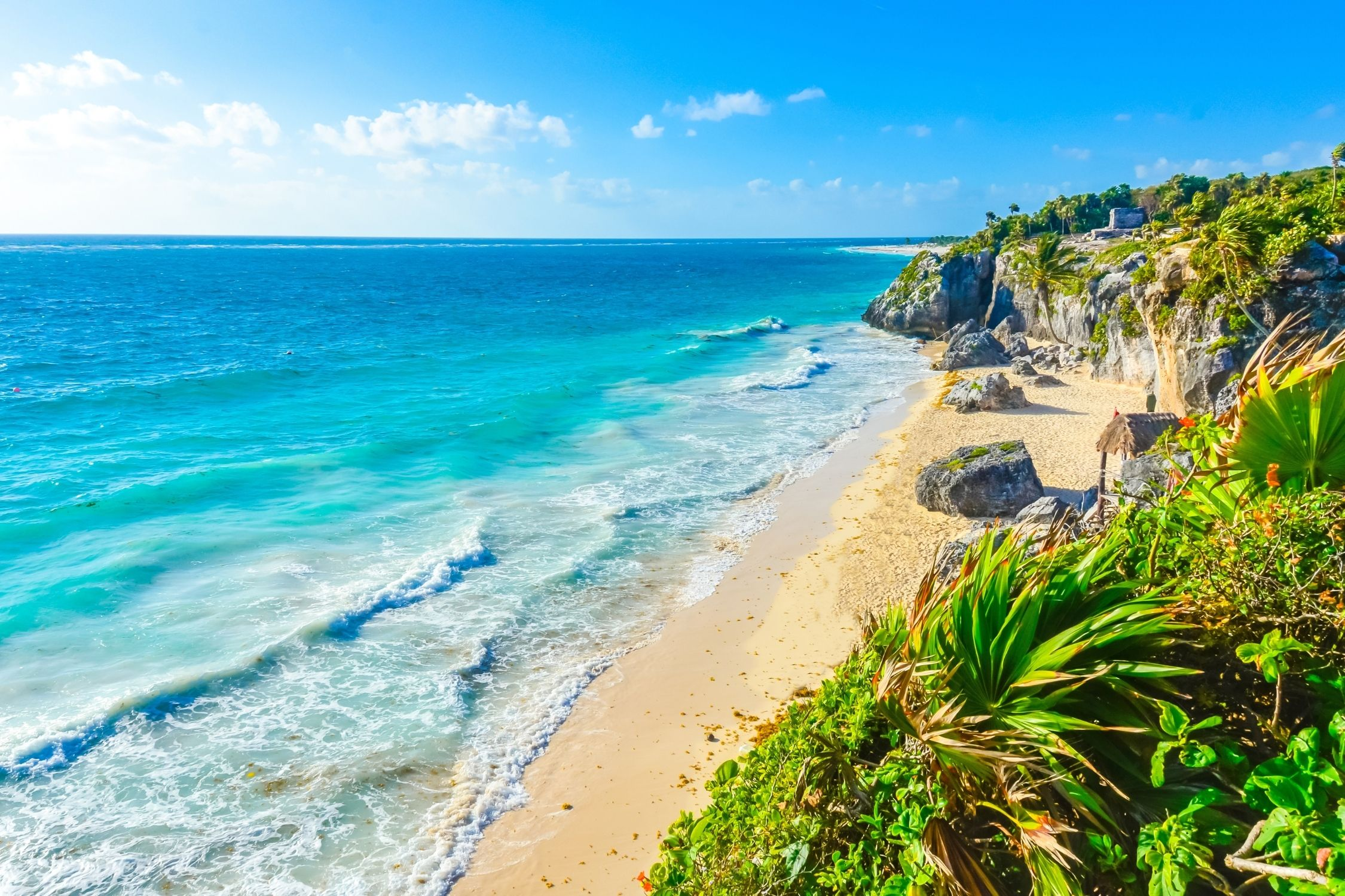 Best Time To The Beach in Tulum