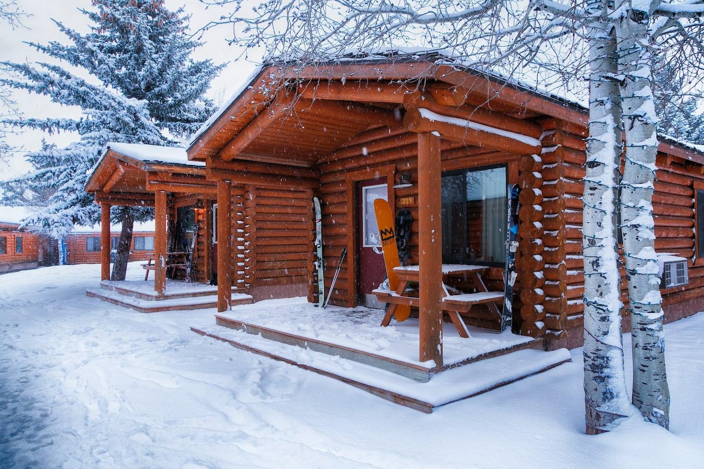 Cowboy Village on Airbnb in Jackson Hole