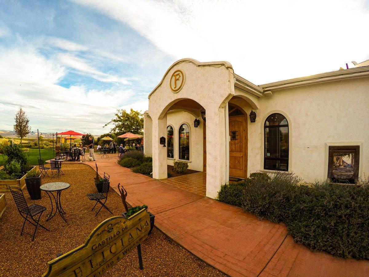 Places to visit in Washington: Castillo de Feliciana Winery in Walla Walla