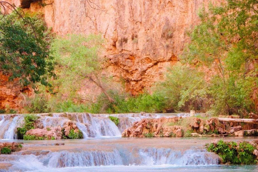 havasupai falls, havasupai, havasu creek, cavasu canyon