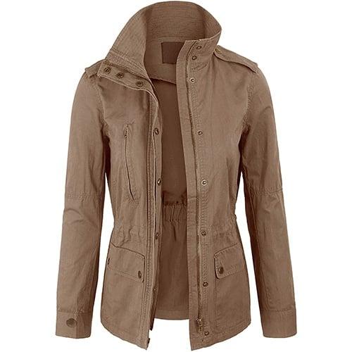 Kogmo Military Anorak Safari Jacket