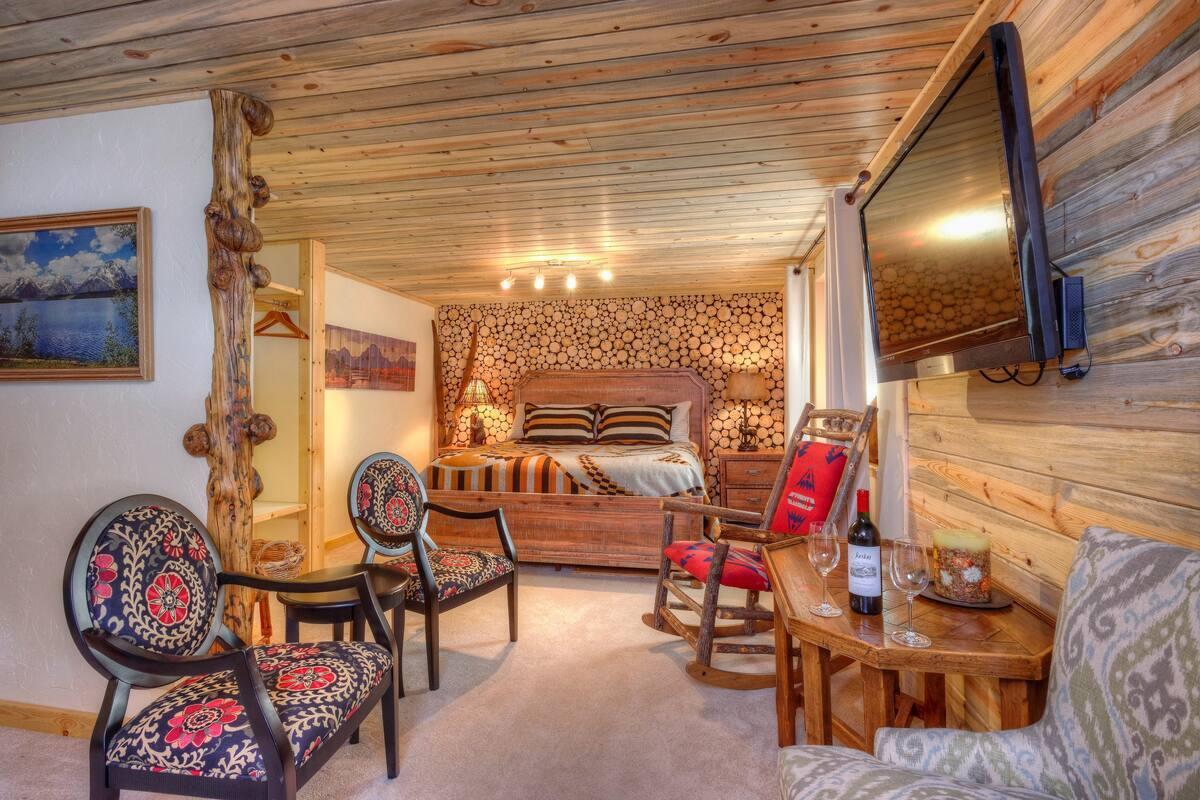 Teton View B&B Jackson Hole in Airbnb