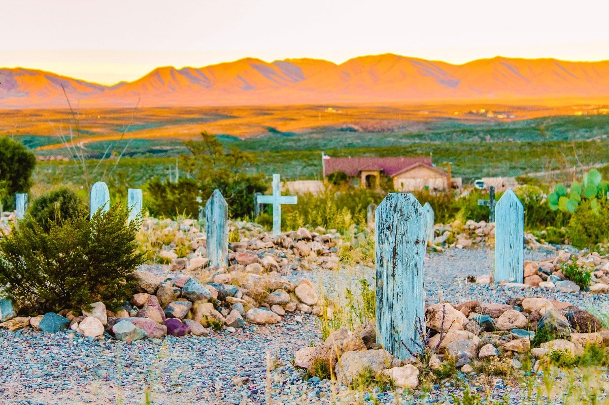 Boothill Cemetery in Tombstone, Arizona, the last stop on this Arizona road trip itinerary