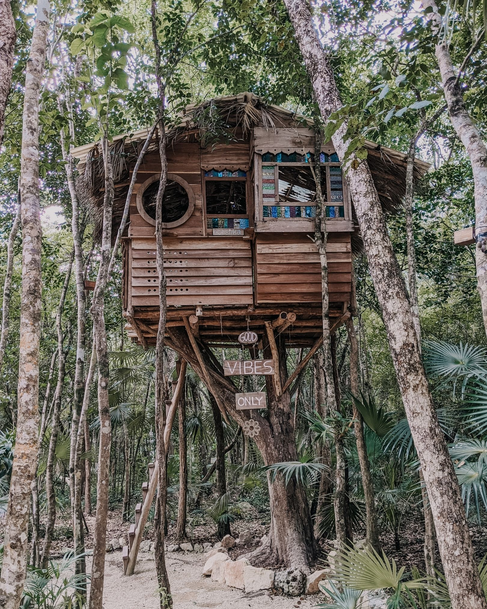 Treehouse in Tulum Mexico