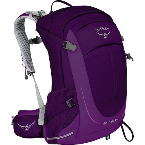 The 24L version of Osprey Sirrus Backpack For Women