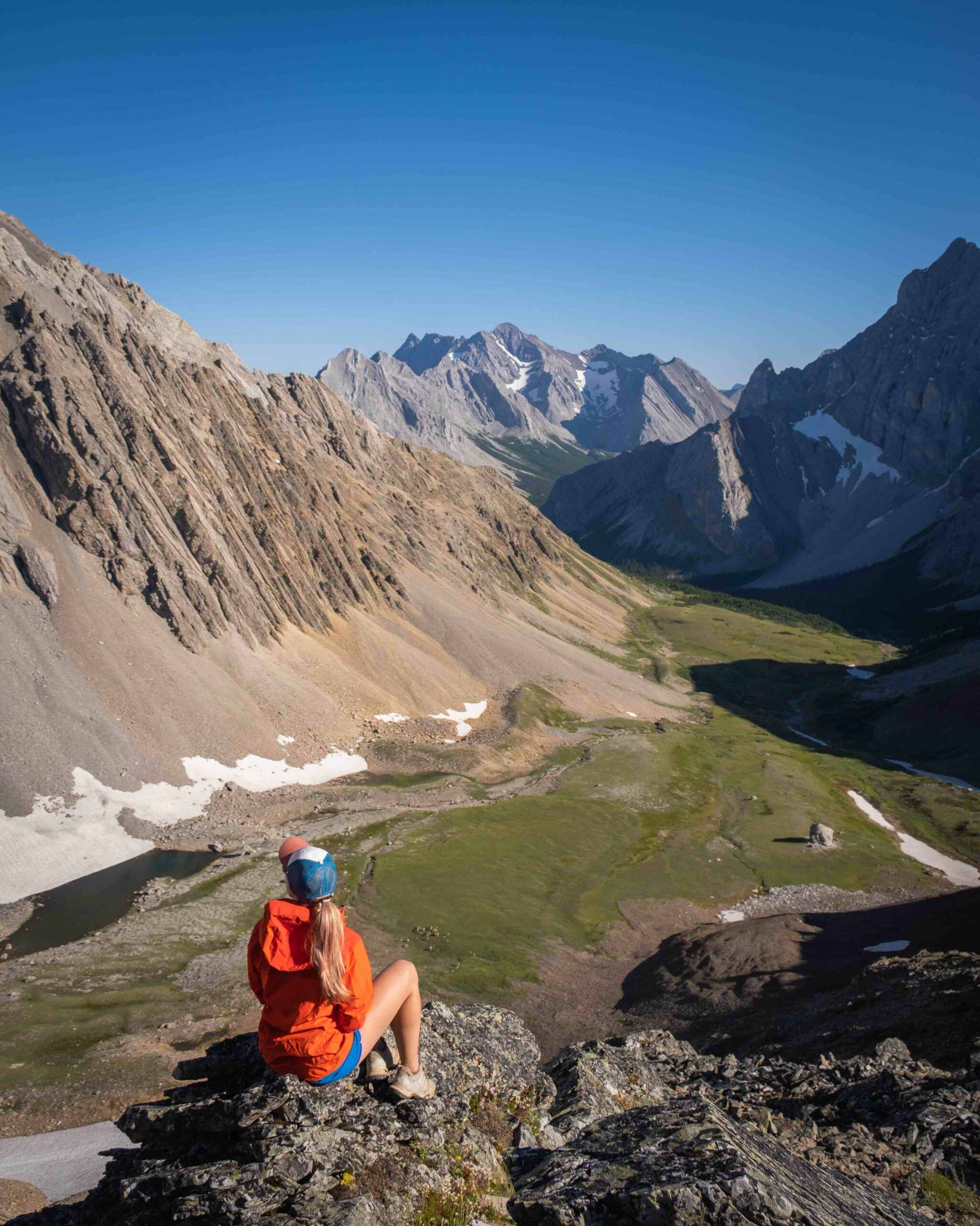 Hiking in the Canadian Rockies