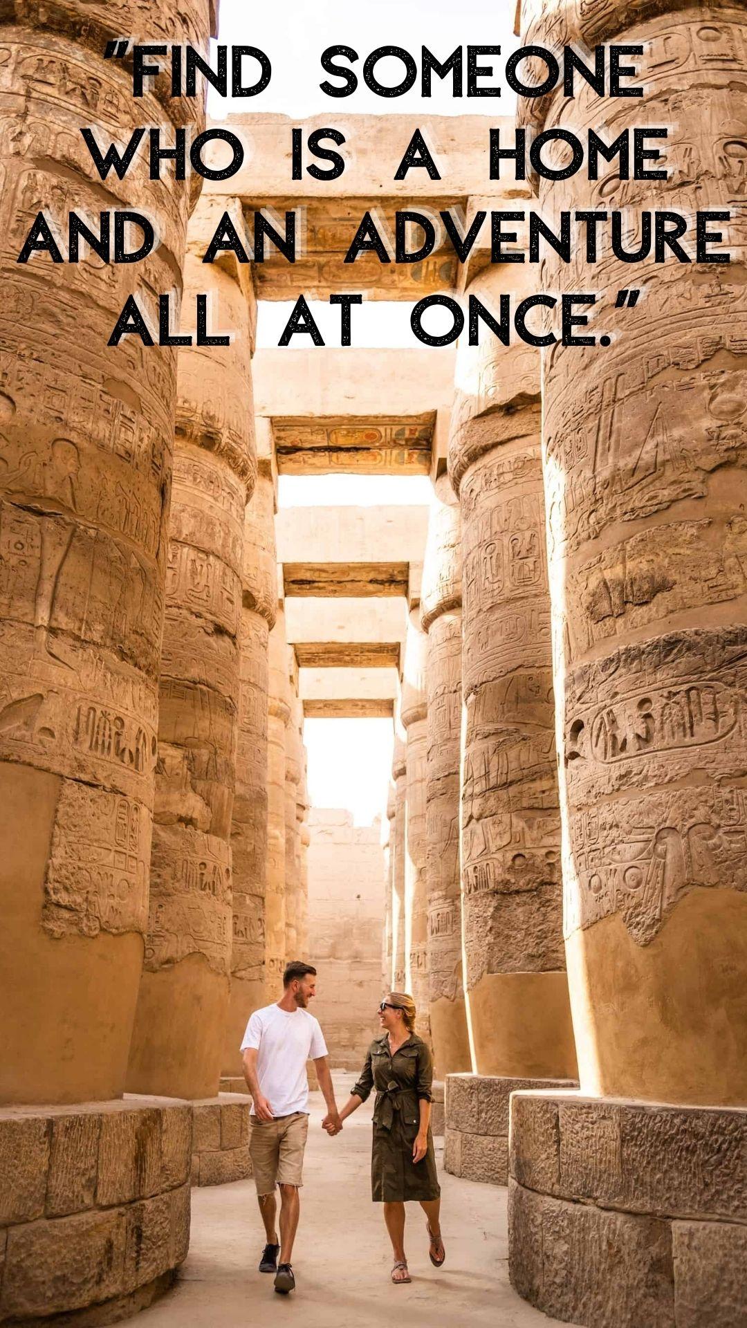 romantic couple travel quotes