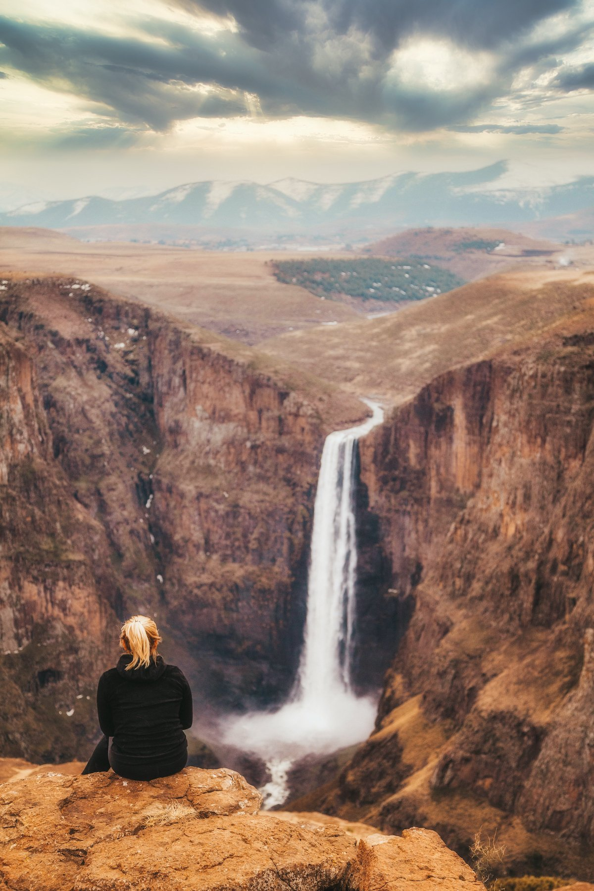 Maletsunyane Falls, Lesotho one of the best waterfalls in africa