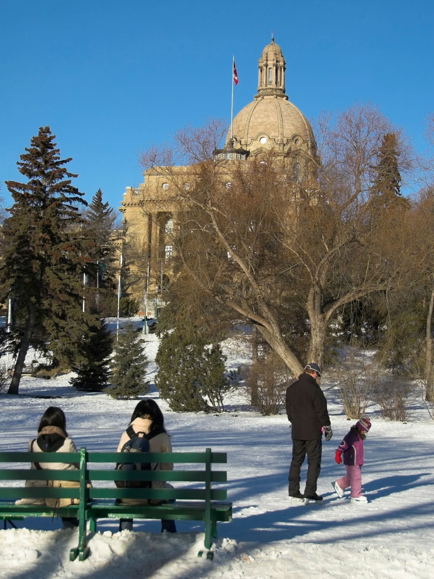 things to do in edmonton in the winter