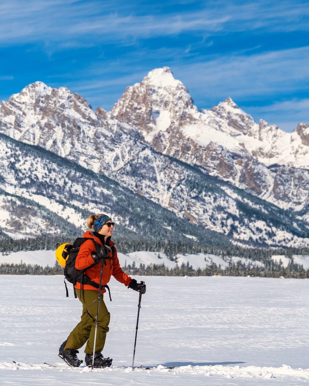 ski touring with the arc'teryx atom lt