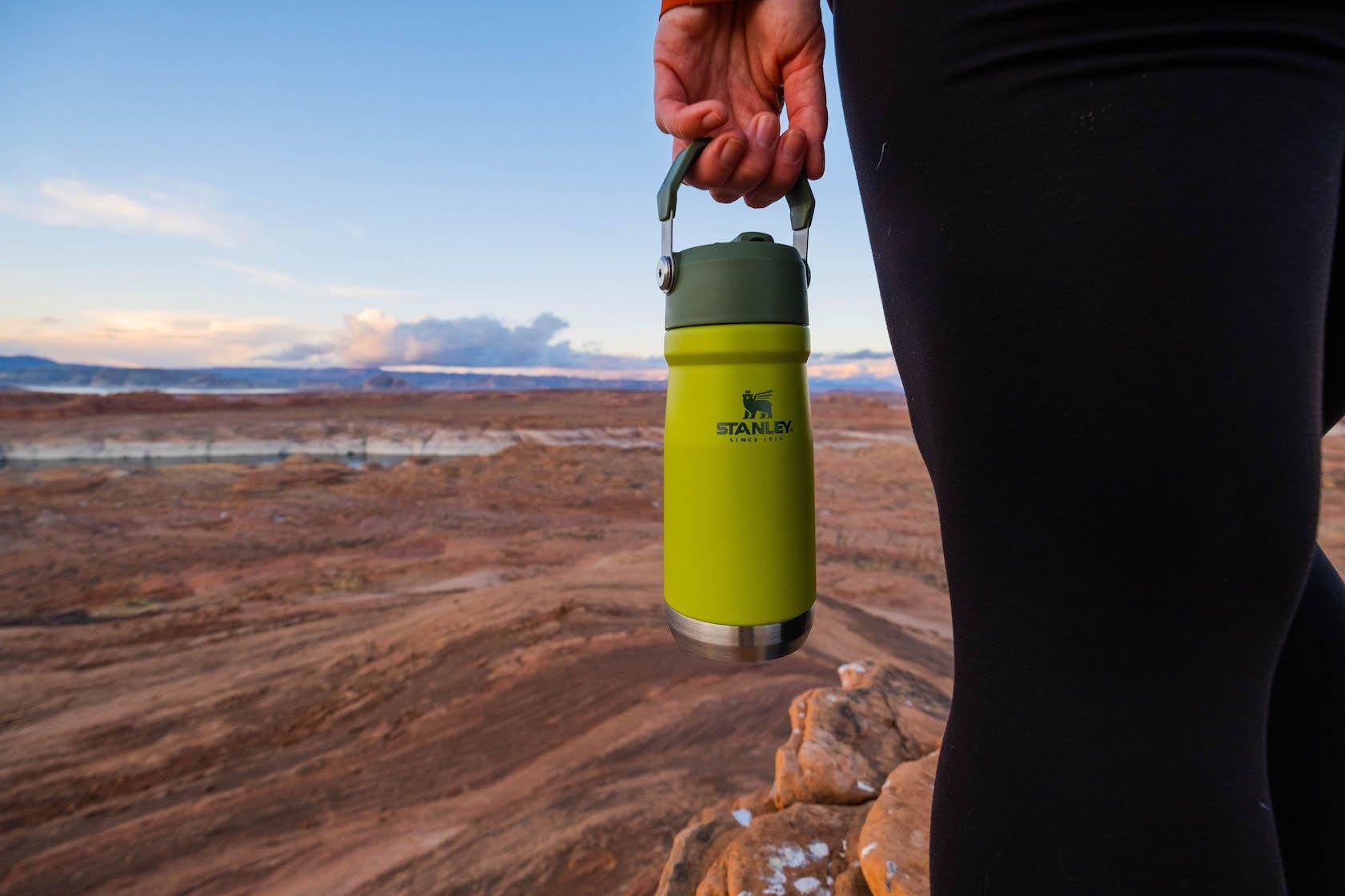 Stanley Iceflow Water Bottle Hiking in the desert