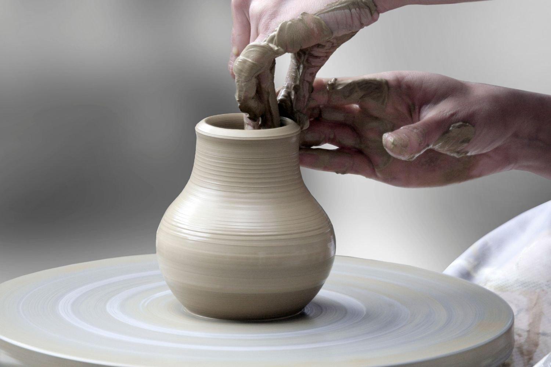 Pottery Wheel spinning