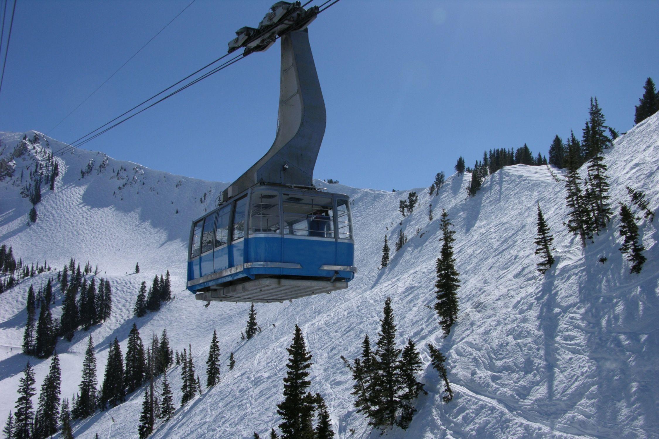 Salt Lake City Ski Resorts Snowbird Gondola