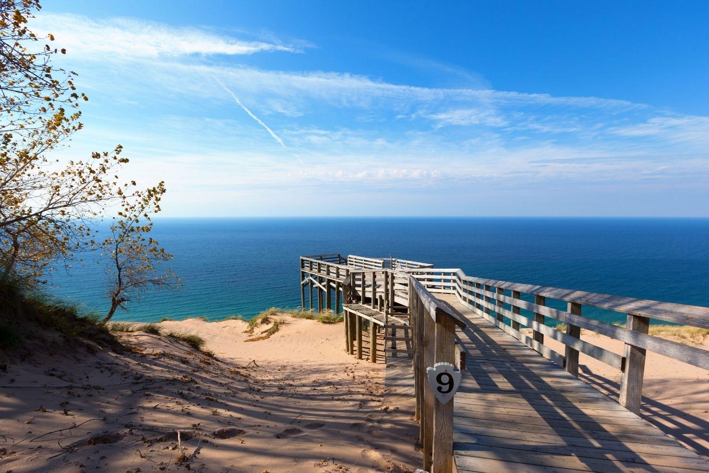 Sleeping Bear Dunes Boardwalk