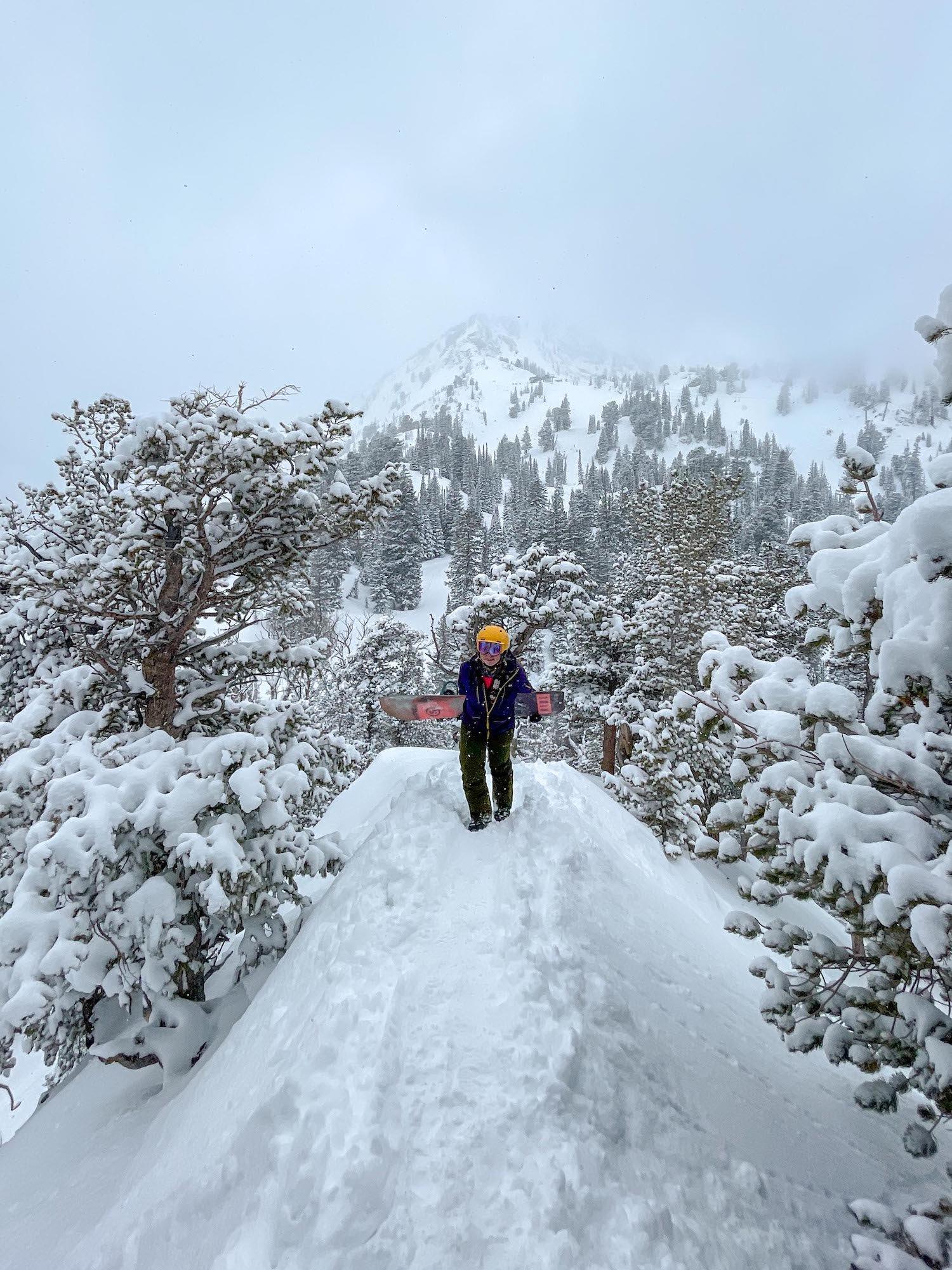 Solitude Hike To Evergreen Peak