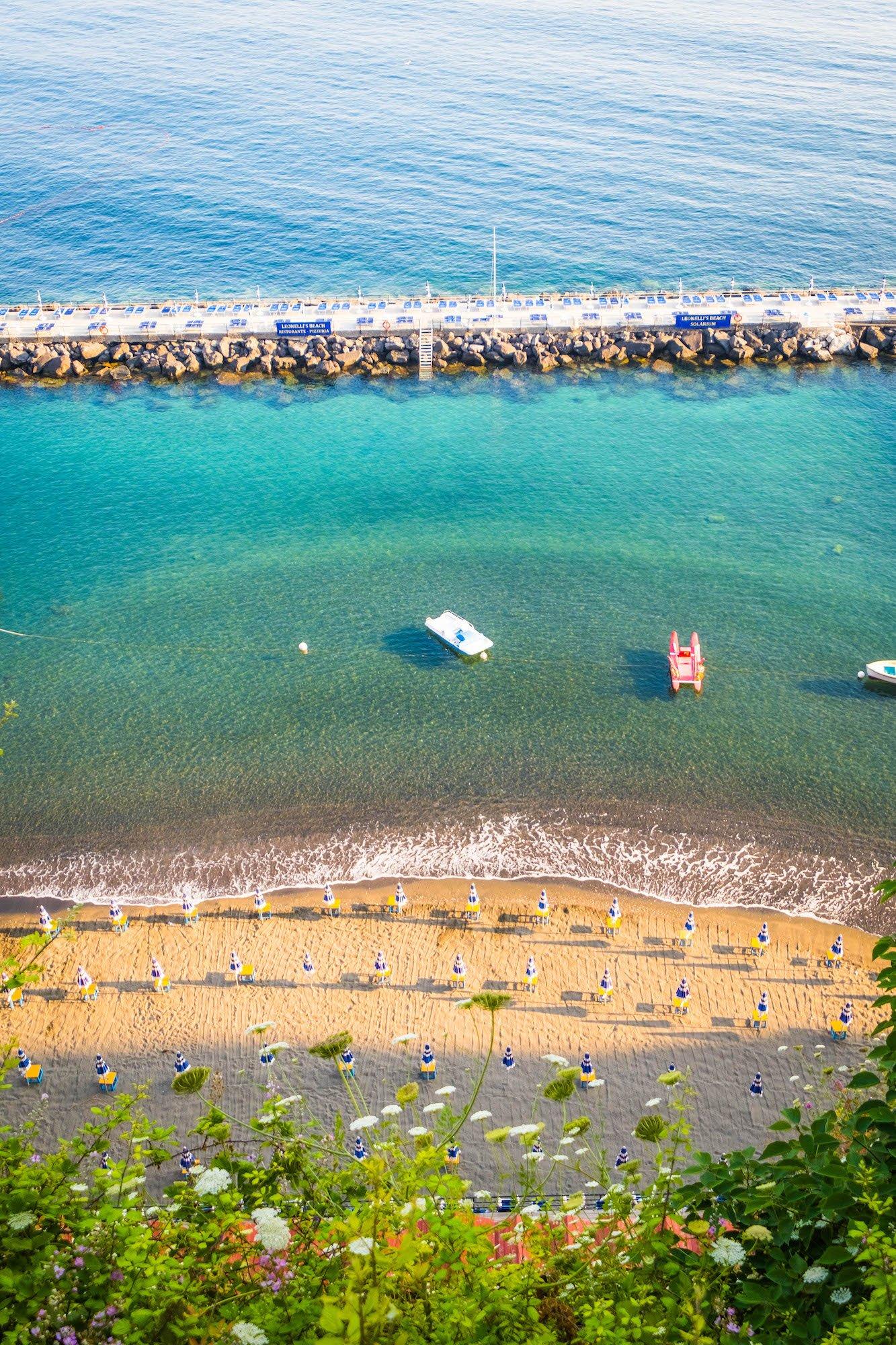 Beach in Sorrento